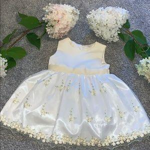 American Princess 12M formal dress